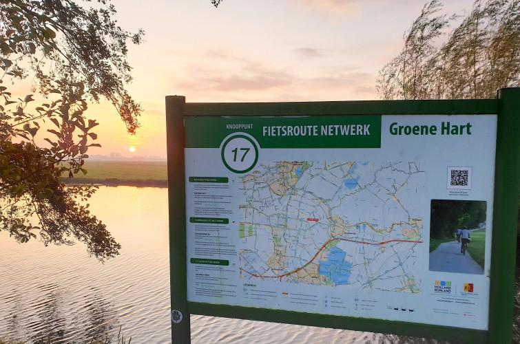Fietsroutes recreatie Bodegraven Reeuwijk